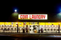 "Coin Laundry, Golden Hill  from ""Riding Shotgun"" Series"