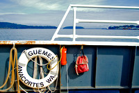 "Guemes Island Ferry, Anacortes, WA  from ""Riding Shotgun"" Series"